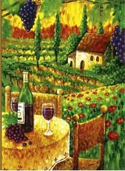 Près de la vigne