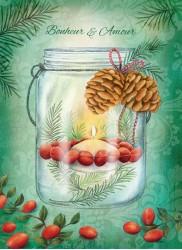 Chandelle festive