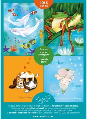 Boîtier Promo 4+1 - Drôles d'animaux